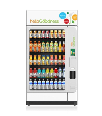Healthy vending machines at an office