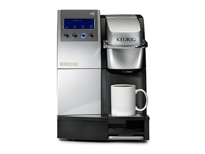Single cup Keurig brewer